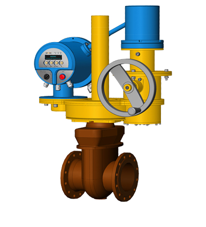 Explosion-Proof Electric Actuator for Isolation Valve